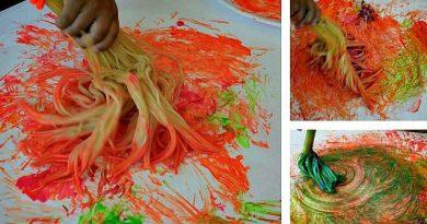 ماکارونی و رنگها